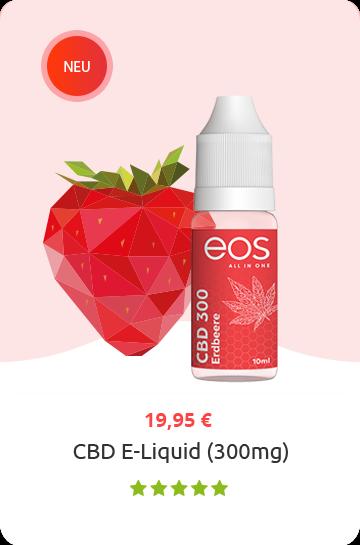 cbd eliquid eos erdbeere